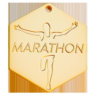 médaille or mat